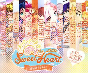 My Little Sweetheart: Summer Break by derpiihooves