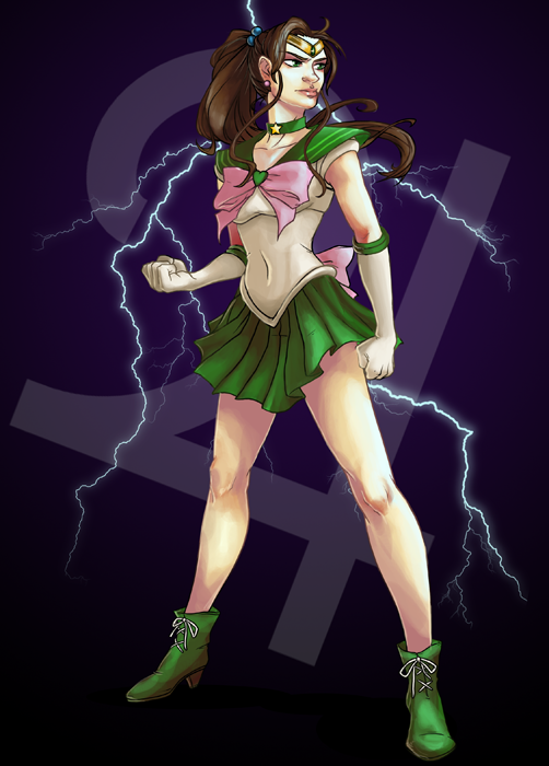 Sailor Jupiter 01 by 9ofcups