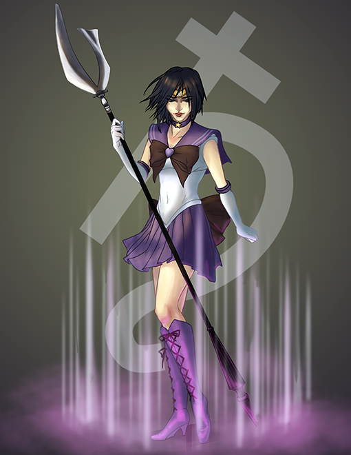 Sailor Saturn by 9ofcups