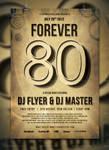 Forever '80 Flyer / Poster