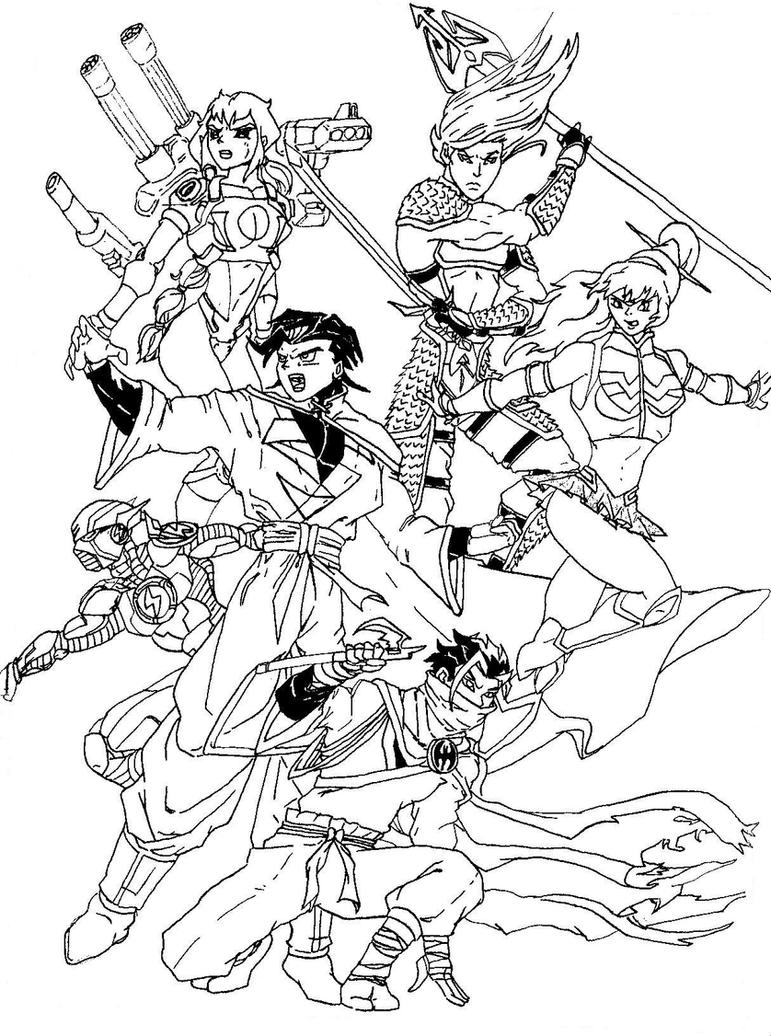 Pictures of Power Rangers Wild Force Coloring Pages - www.kidskunst.info