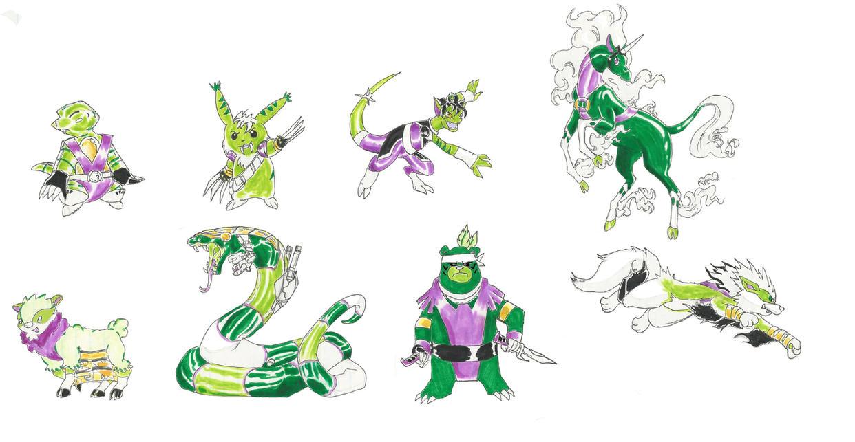 MangaDCU: Beast Boy's Animatrix Beasts 2 by Nightshade475