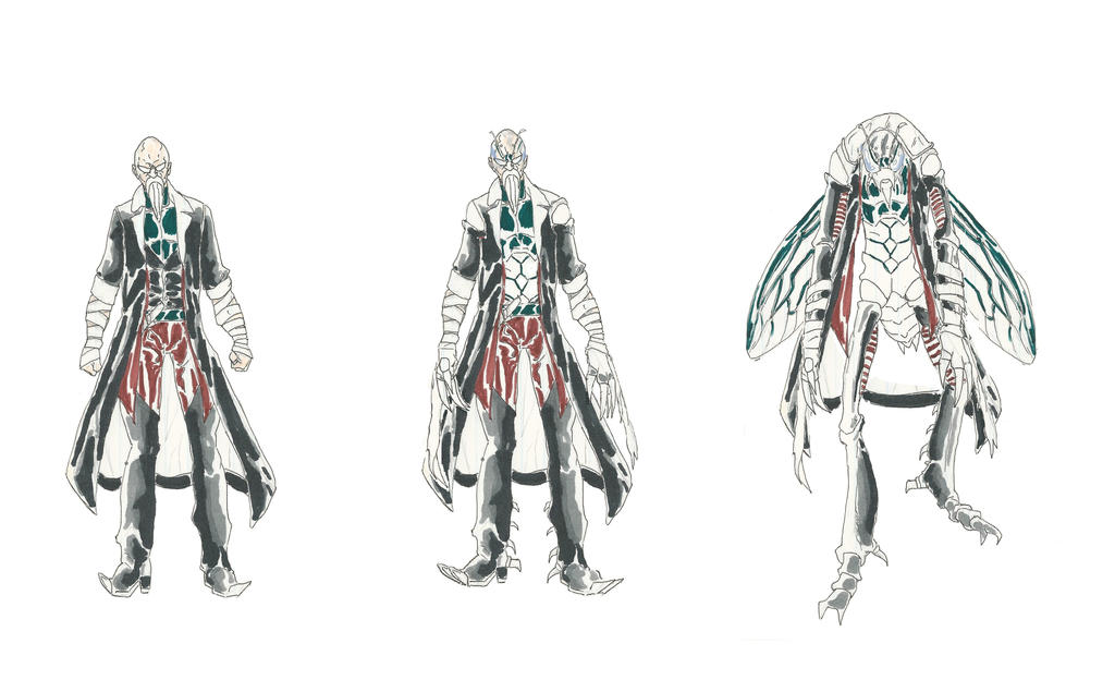MangaDCU: Totems- Cicada by Nightshade475