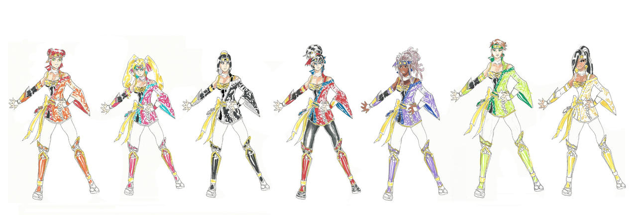 MangaDCU:Wonder NinjaGirls by Nightshade475