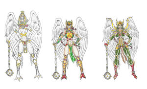MangaDCU: Hawkgirl- Evolution by Nightshade475
