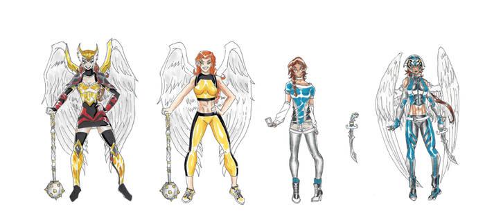 MangaDCU: Hawkgirl- Evolution 3