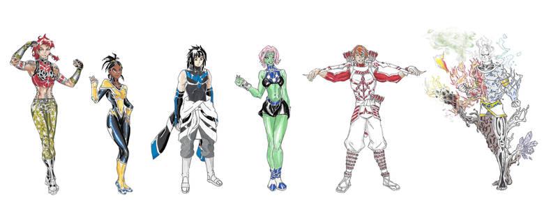 MangaDCU: New Outsiders by Nightshade475