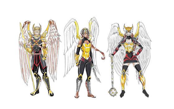 MangaDCU: The Hawks