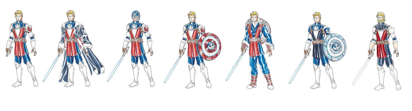 Marvel Jedi: Captain America- Evolution
