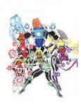 MangaJLA:Spectrum Lantern Corps