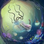 Jellifish sea