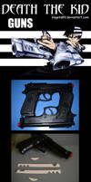 Death The Kid Guns Tutorial by Vegeta89