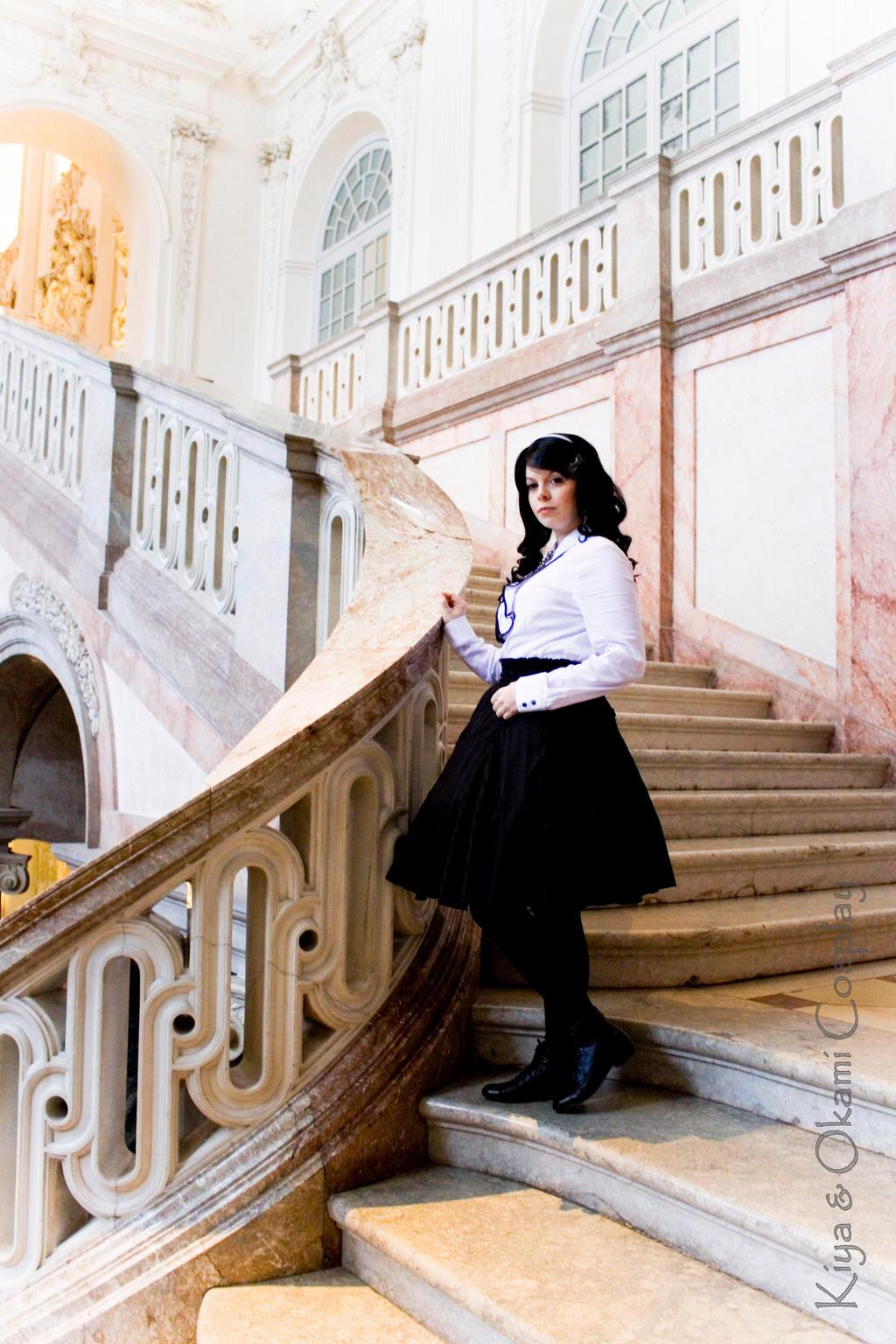 Black and White Lolita 2 by kiyaviolet