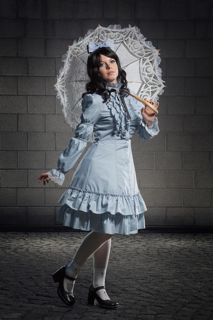 Classic Lolita Outfit by kiyaviolet