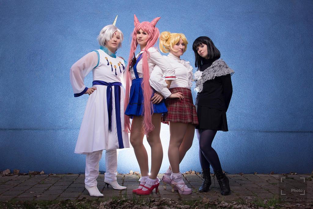 Sailor Moon - Group picture by kiyaviolet