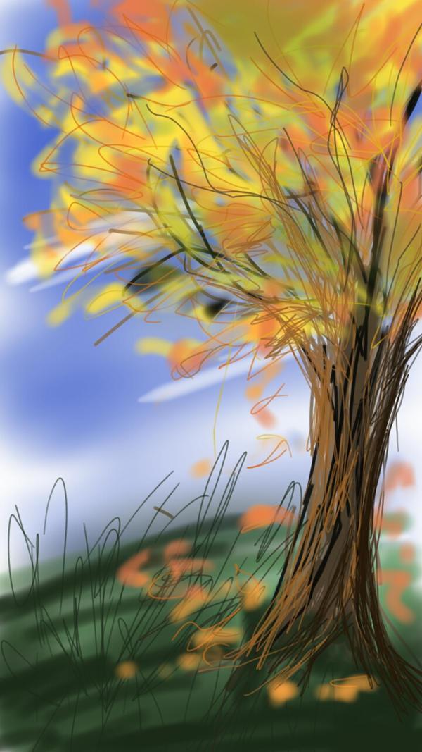 Sketch this #1 tree by kiyaviolet