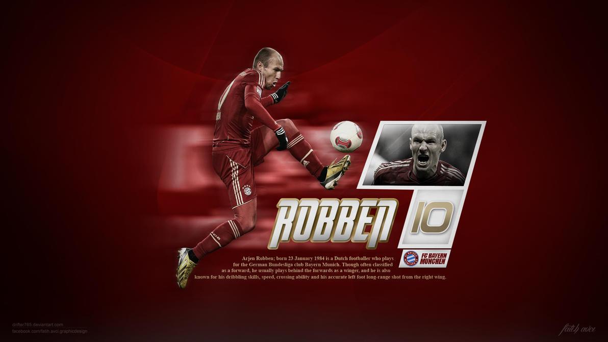 Arjen Robben by drifter765