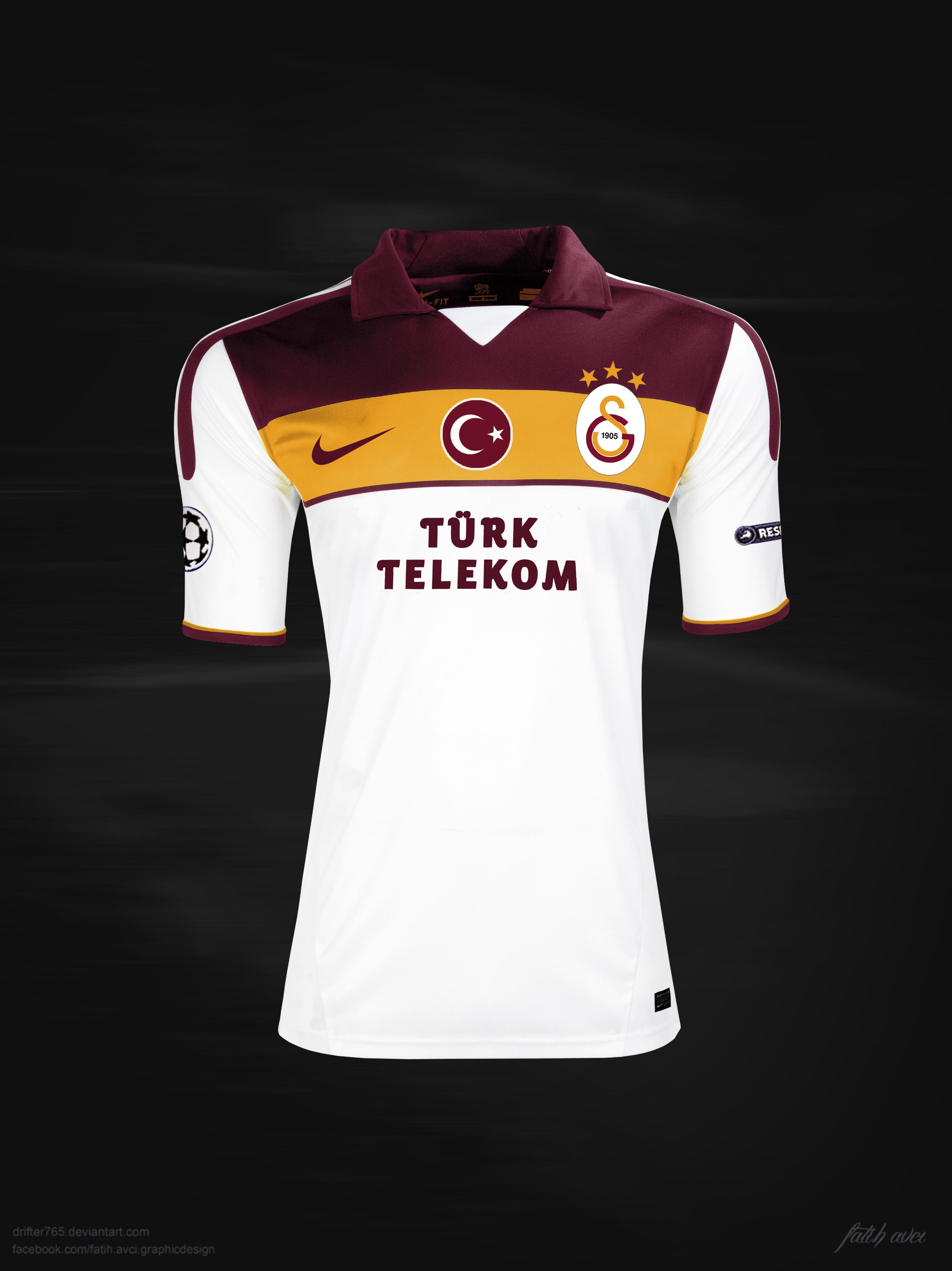 Galatasaray 2013/2014 away by drifter765