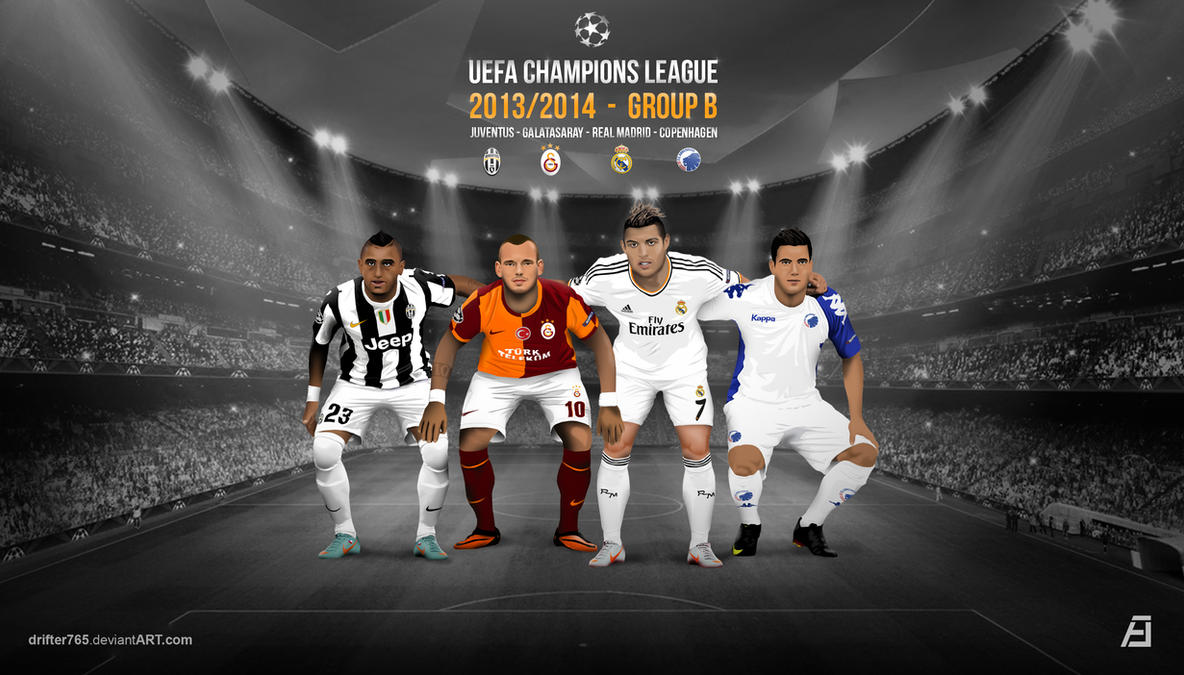 UEFA Champions League - 2013/2014 GROUP B by drifter765