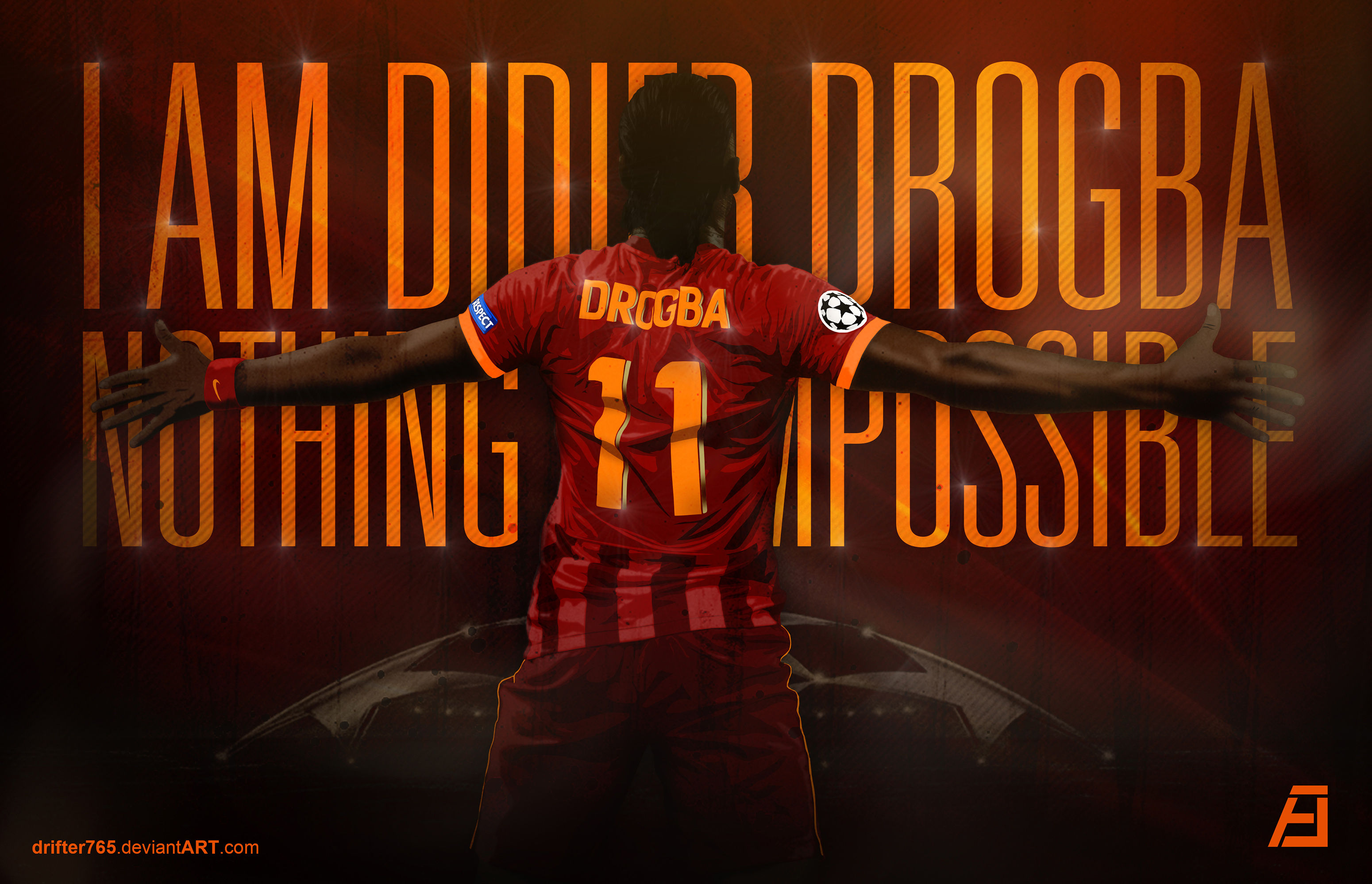 DIDIER DROGBA by drifter765