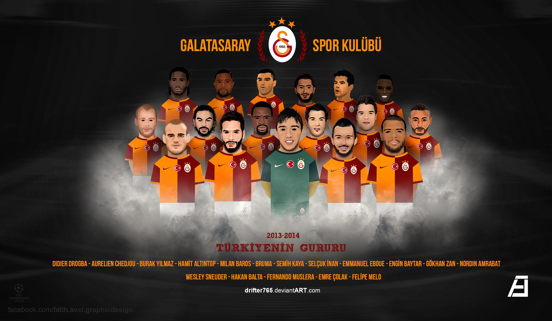 Song Of Galatasaray Voetbal Spelers Van Galatasaray G
