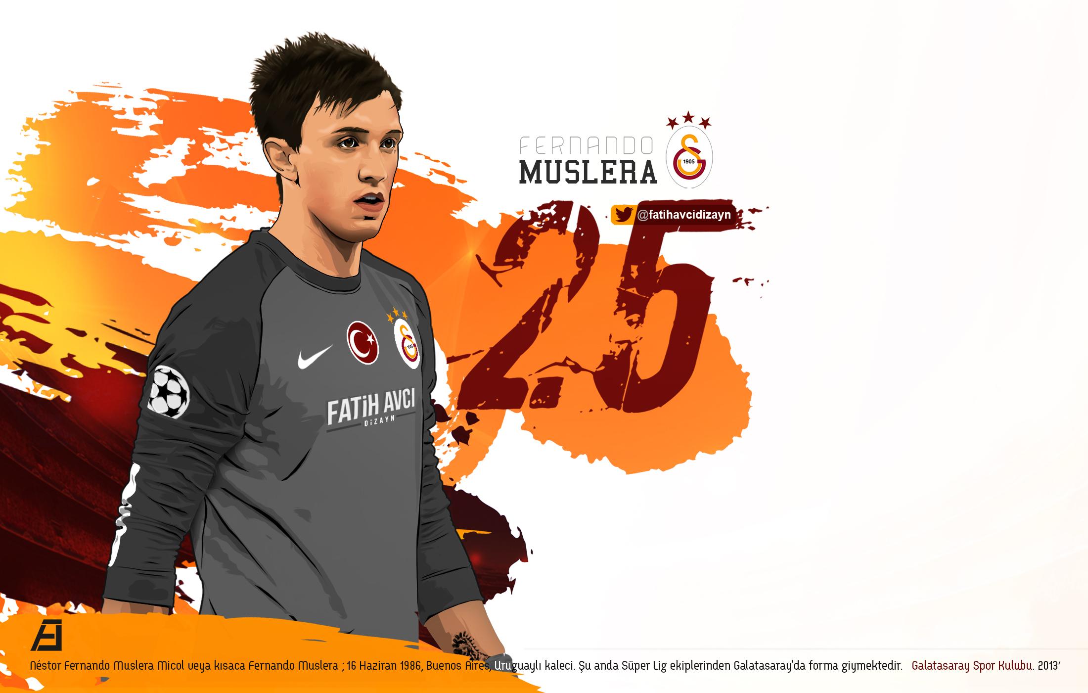 Fernando Muslera by drifter765