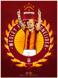 Wesley f*cKING Sneijder by drifter765