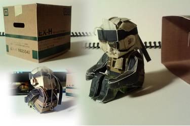 Old Snake papercraft by BCEman