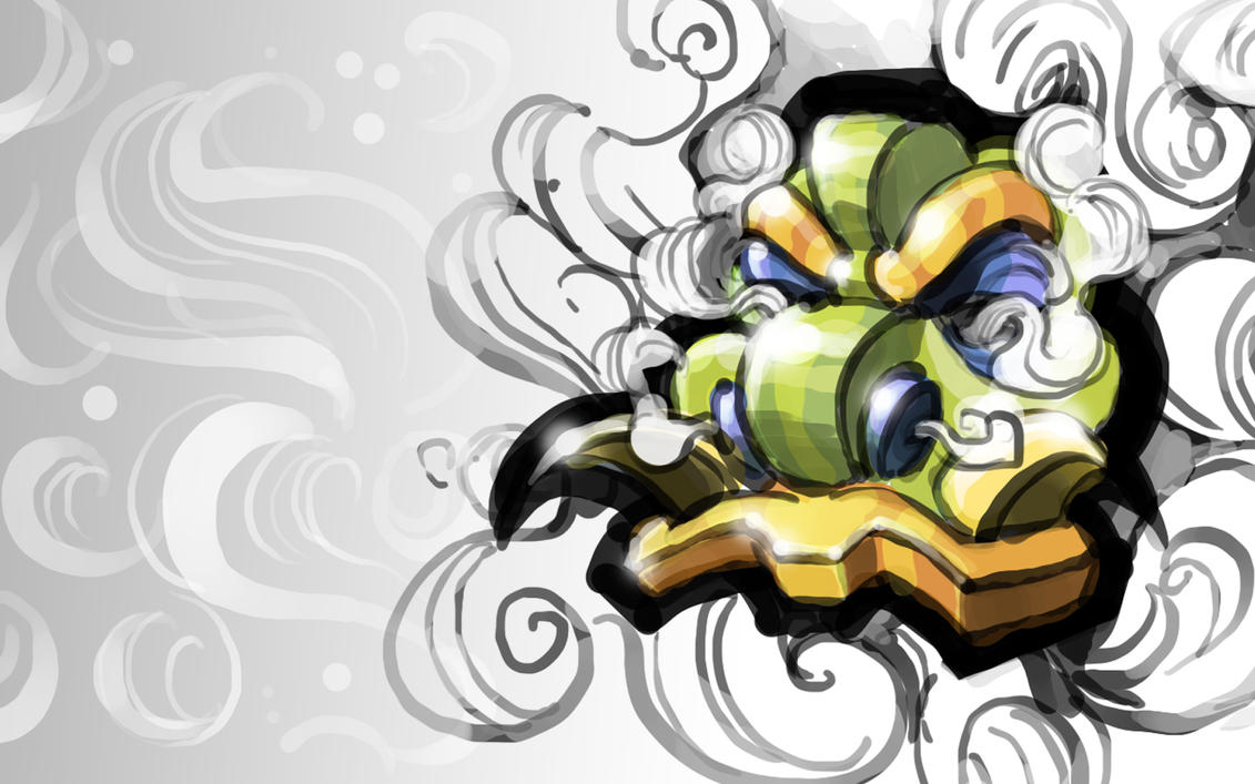 Dragon Mask wallpaper by BCEman