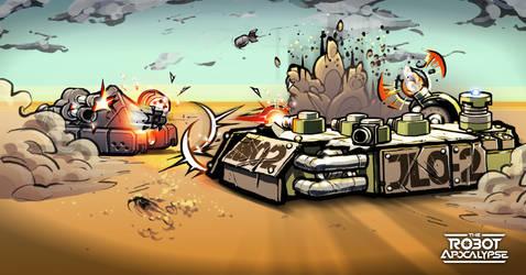 Robot Apocalypse Advert by BCEman