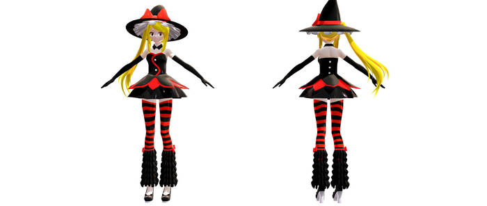 (MMD) Fairy Tail- Lucy Witch (DL DOWN)