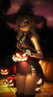 (MMD) Eden's Zero - Halloween Rebecca