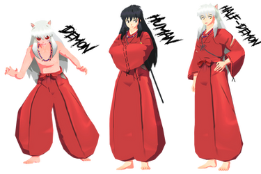 (MMD) Preview model Inuyasha