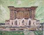 Michigan Central Train Station (Detroit series) by GoodKingHenry4