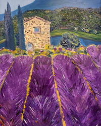 French Lavender Fields by GoodKingHenry4
