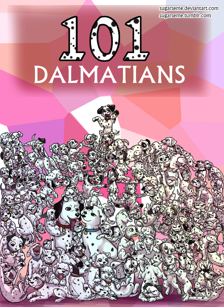 101 Dalmatians by Sugarseme