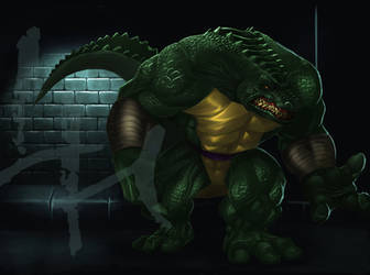 Leatherhead the Croc by karuma9