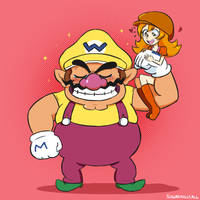 Wario: Power Couple by SugarKills