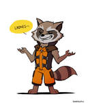 GotG: Rocket Raccoon