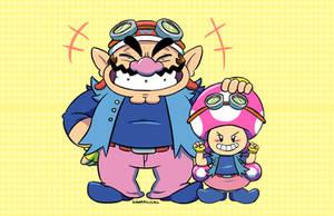 Mario: Double Agents by SugarKills