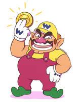 Mario: WAH HA! by SugarKills