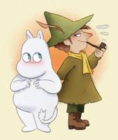 Moomin: Snufkin and Moomin
