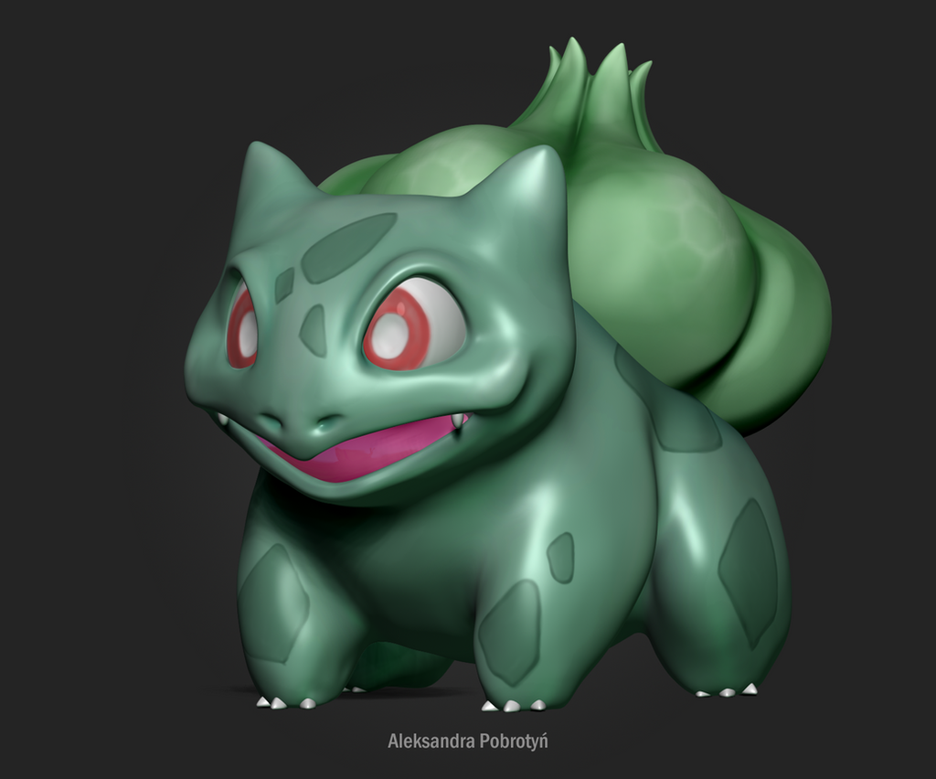 #1 Bulbasaur by Nuffin