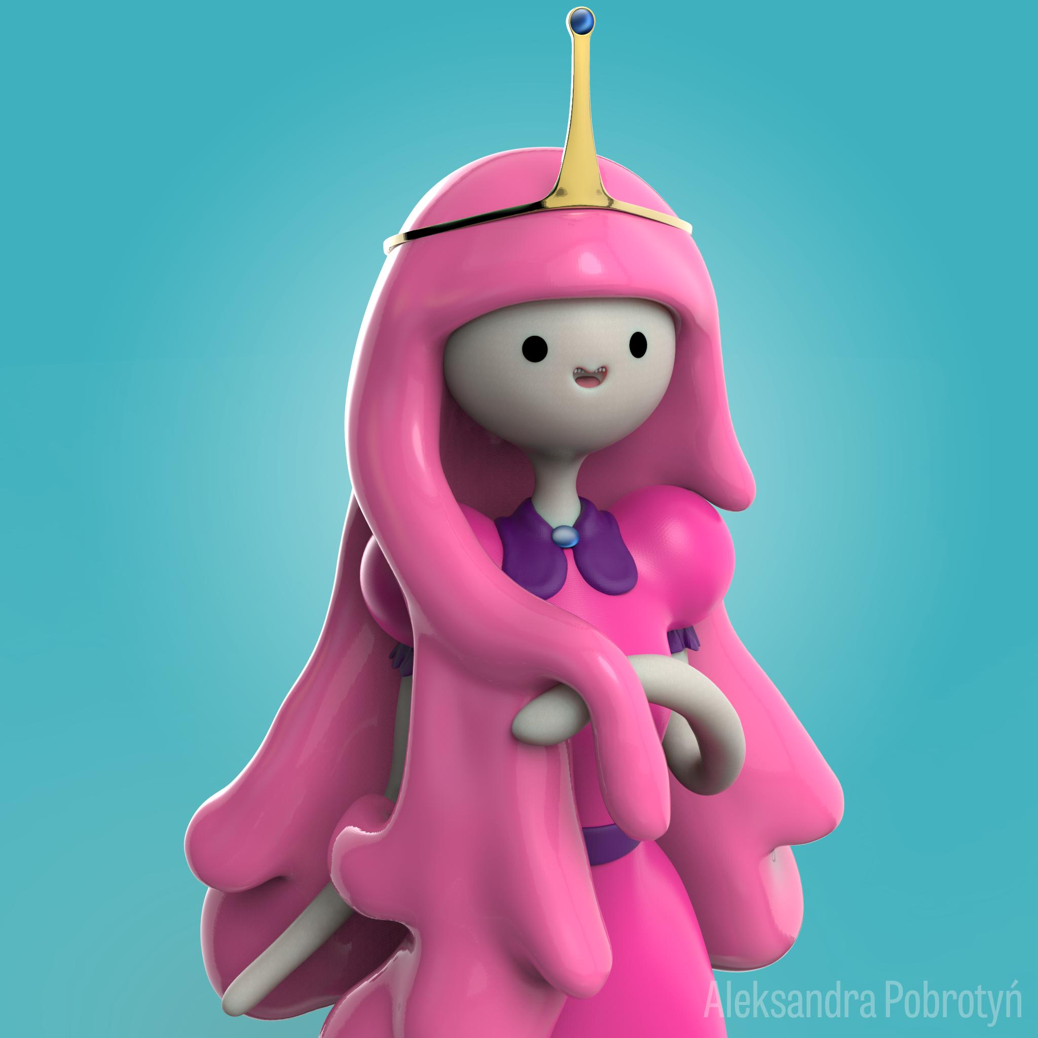 Princess BubbleGum by Nuffin