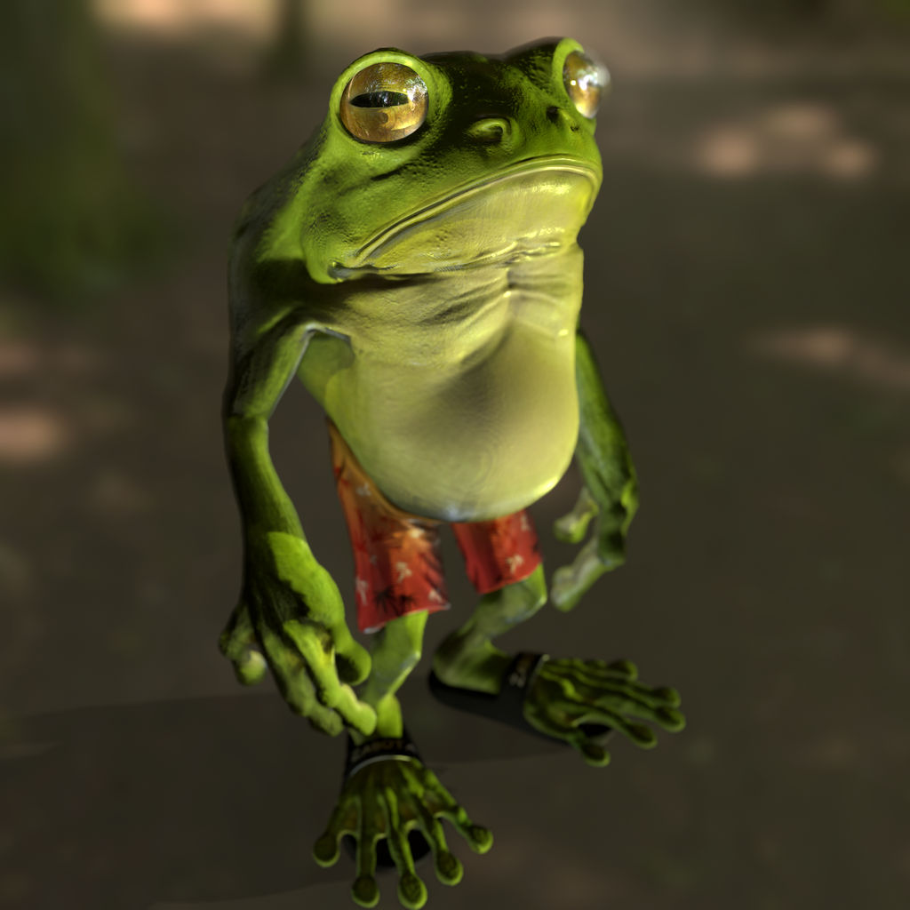 Janusz The Frog by Nuffin