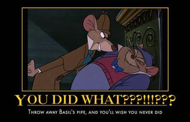 Dawson took Basil's pipe away by Mythhunter