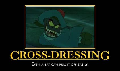 Cross-dressing by Mythhunter