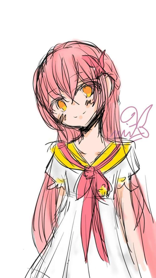 doodle - coco tsukari (chika) by Miitee