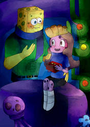 CE - Spongebob x Laura