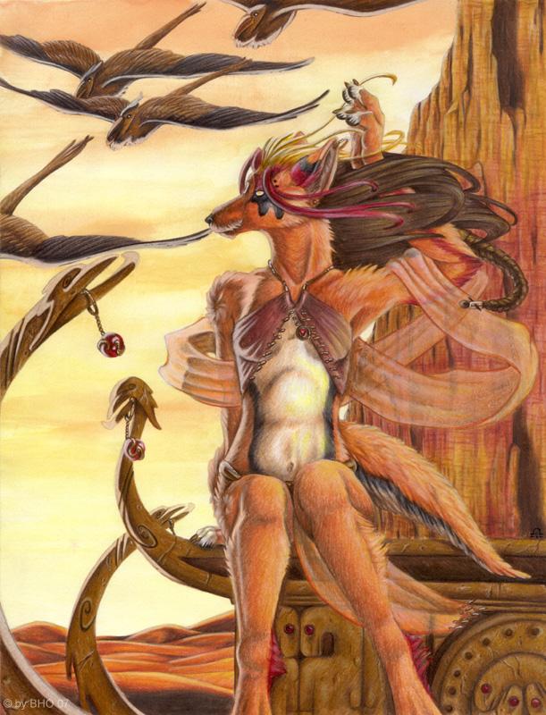 Desert Rose by BloodhoundOmega